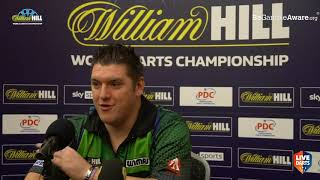 """Stephen Bunting on defying James Wade nine-darter: """"It was a good thing there was no crowd"""""""