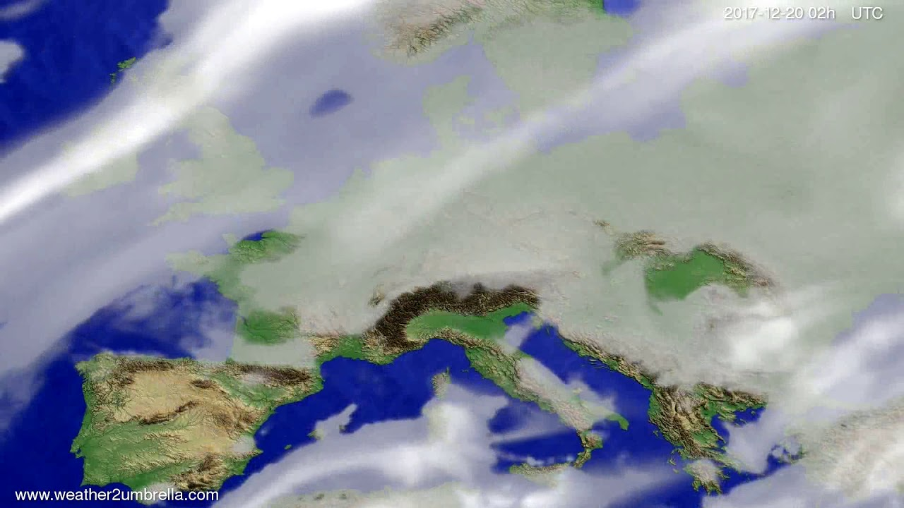 Cloud forecast Europe 2017-12-16