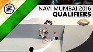 Navi Mumbai Bouldering World Cup 2016 | Qualifiers by OnBouldering