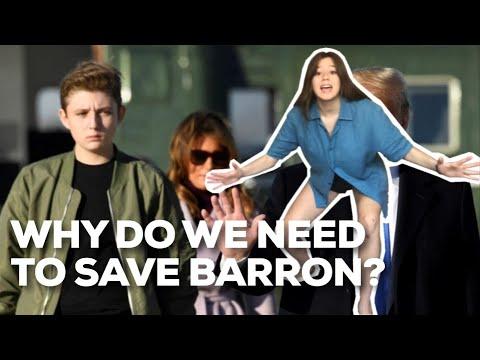 FREE BARRON TRUMP 2020