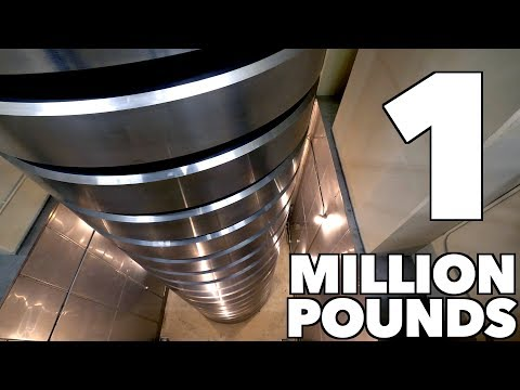 The World  s Heaviest Weight Can Generate a Maximum of 1 000 000 Pounds of