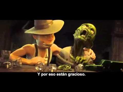 video que muestra el trailer de la pelicula the goon