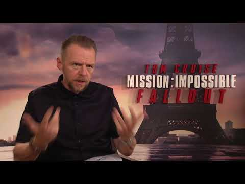 Mission: Impossible - Fallout || Simon Pegg  Paris Junket Interview || SocialNews.XYZ