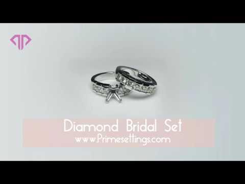 Diamond Bridal Sets - www.Primesettings.com