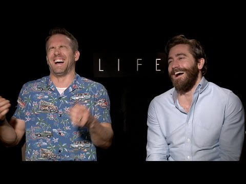 A Hilariously Chaotic and Uncensored Interview with Ryan Reynolds and Jake