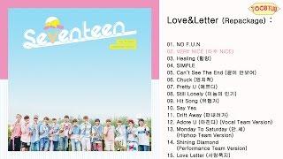 Download Lagu [Full Album] SEVENTEEN (세븐틴) - Love&Letter [Repackage] Mp3