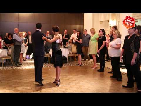 Learn to tango with Dance 'Til Dawn's Flavia Cacace & Vincent Simone