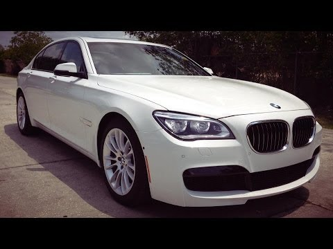 2014 BMW 750Li M Sport Sedan Full REVIEW, Start Up, Exhaust