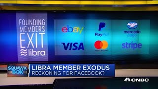 Why  companies backed out of Libra