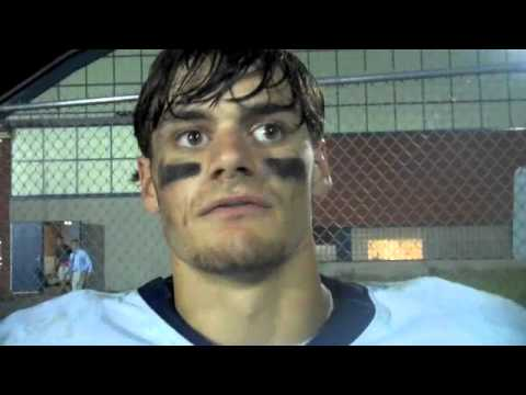 sj_preps - St. John's Prep running back talks to ESPN Boston HS after SJ. Preps 49-6 opening game win over Dracut.