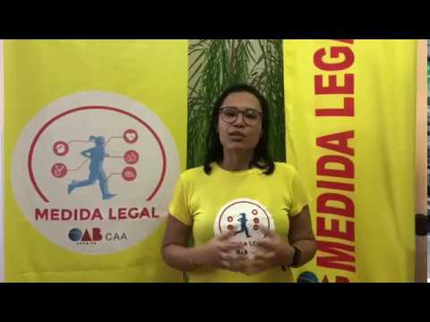 Susan Manuela - coordenadora do Medida Legal e vice-presidente da CAASE