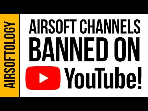 Did YouTube Ban Airsoft Channels? (Then Un-ban Them?) | Airsoftology Q&A Show