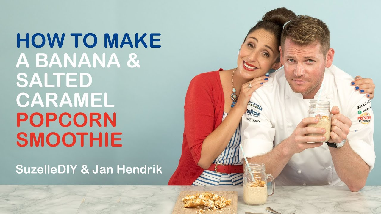 How to make a Popcorn Smoothie-graphic