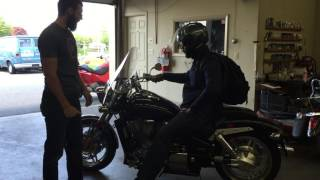 3. 2007 Honda VTX 1800 customer review