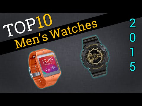 Top 10 Men's Watches 2015 | Best Men's Watches Review