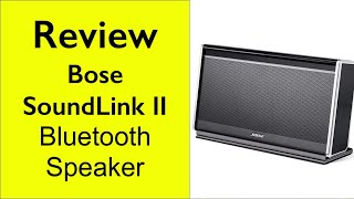 Download Lagu Review Bose SoundLink Bluetooth Mobile  speaker II Soundlink II Mp3