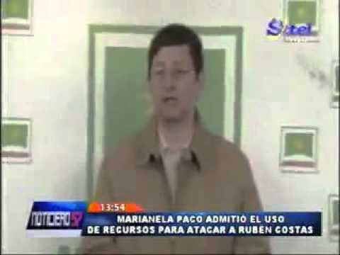 Ministra Paco malverso fondos para atacar a Rubén Costas