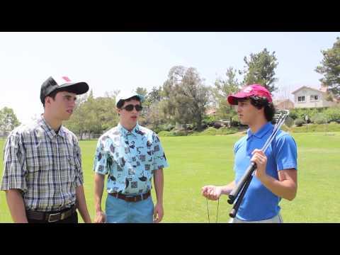 Collin and Hank: Golf Lesson