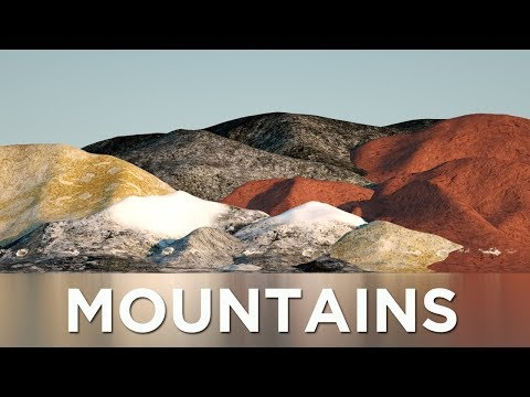 Mountains Size Comparison (Solar System) (видео)
