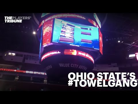 Ohio State's #TowelGang prepares for March Madness