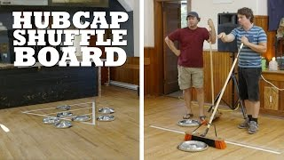 The guys set up the ultimate game of shuffleboard, using hubcaps!   What projects should we make next? Let us know in the comments!  All Brojects, all the time: http://www.cottagelife.com/brojects   Subscribe to Cottage Life on YouTube: http://bit.ly/19UCmwF DIY projects, design tips, recipes and more: http://www.cottagelife.com Twitter: http://www.twitter.com/cottagelife Facebook: http://www.facebook.com/cottagelife Pinterest: http://pinterest.com/cottagelife/  Subscribe to Cottage Life Food: https://www.youtube.com/cottagelifefood  Subscribe to Cottage Life Style: https://www.youtube.com/cottagelifestyle