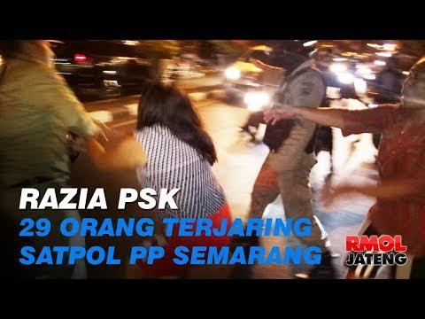 Razia PSK, Satpol PP Semarang Jaring 29 Orang