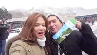 A trip to BaDaLing 八达岭 Great Wall 长城 in the snow