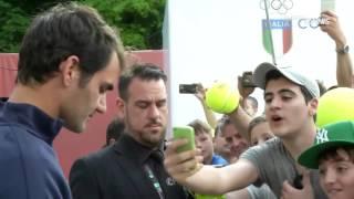 (Thanks to SuperTennis for the video) Follow us here: Roger Federer: https://twitter.com/VIKI_RF...