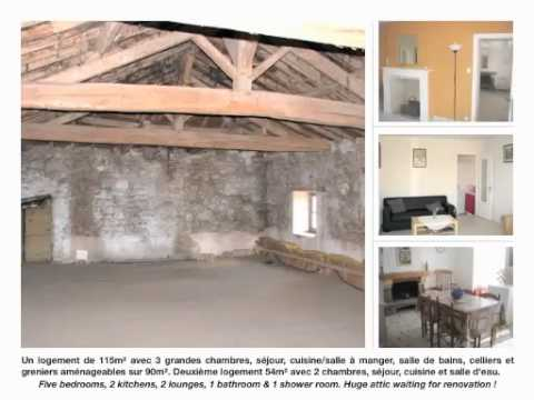 PROPERTY FOR SALE NEAR PARTHENAY - MAISON DEUX SEVRES