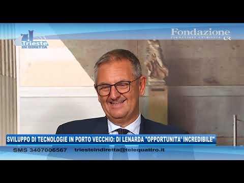 09/09/2020 - TECNOLOGIE QUANTISTICHE IN PORTO VECCHIO:  DI LENARDA 'OPPORTUNITA' INCREDIBILE'