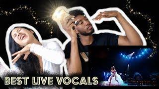 AGNEZ MO - BEST LIVE VOCALS COMPILATION   REACTION