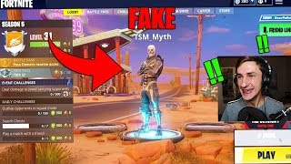 Buying A FAKE TSM MYTH Account For $1,000 *RARE SKINS* (Fortnite)
