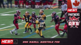 2016 NCAFA - MOSQUITO B-CUP CHAMPIONSHIP Warriors vs Giants