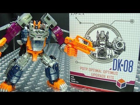 DNA Design POTP OPTIMAL OPTIMUS UPGRADE KIT: EmGo's Transformers Reviews N' Stuff