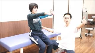 座位足上げ 改善エクササイズ【ケガ予防フィジカルチェック用】