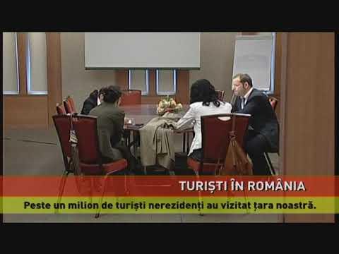 Turiști străini în România