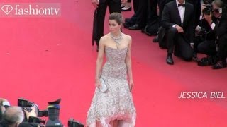Cannes 2013 Red Carpet: Fame And Fashion Ft. Kirsten Dunst,Jessica Biel,Steven Spielberg | FashionTV