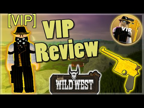 Wild West - VIP Review/Guide (Roblox)