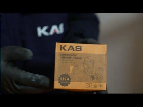 KAS Termostatik Radyatör Vanası
