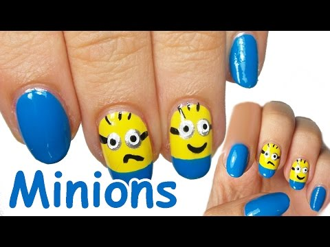 nail art - minions
