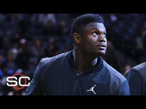 Video: Zion signs sneaker deal with Jordan Brand | SportsCenter