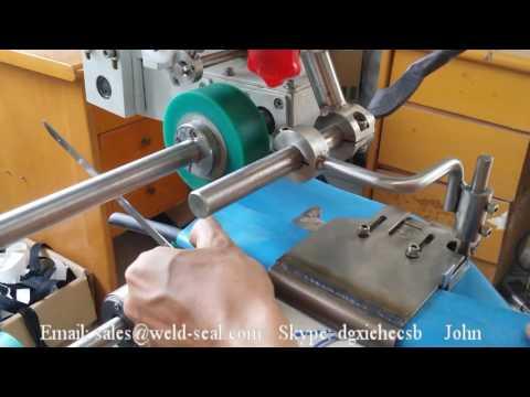 máquina de soldadura de aire caliente para los botes inflables de PVC