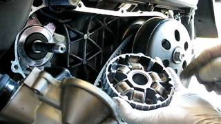10. Honda NHX110 variator removal & installation