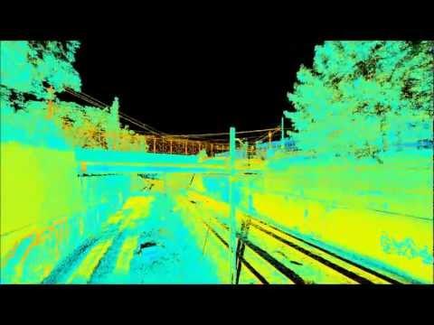 Skanowanie laserowe 3D - wizualizacja HUCISKA w Gdańsku