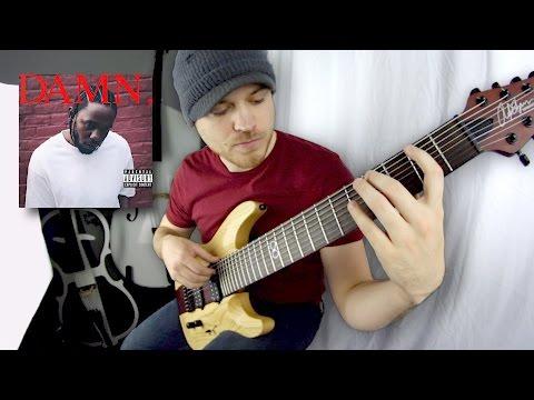 DAMN - DNA - Kendrick Lamar- Guitar instrumental Cover