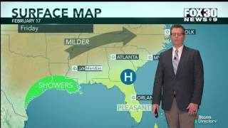 Forecast for February 17, 2017