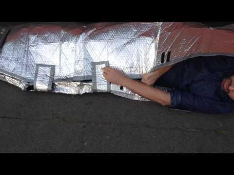 15歲少女因親自「體驗過流浪漢生活」而研發出一款特殊睡袋,其效能讓大家聽了都希望快點量產!
