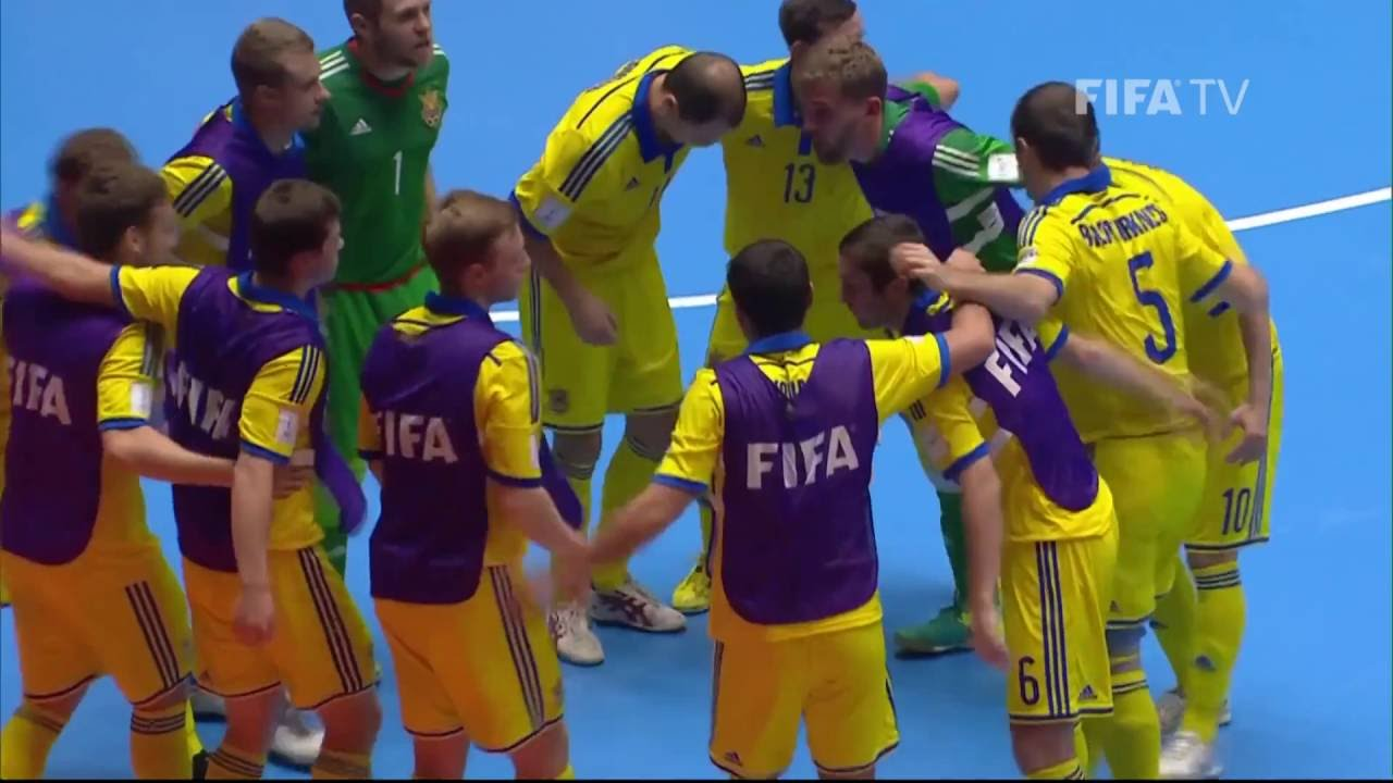 Match 43: Argentina v Ukraine – FIFA Futsal World Cup 2016