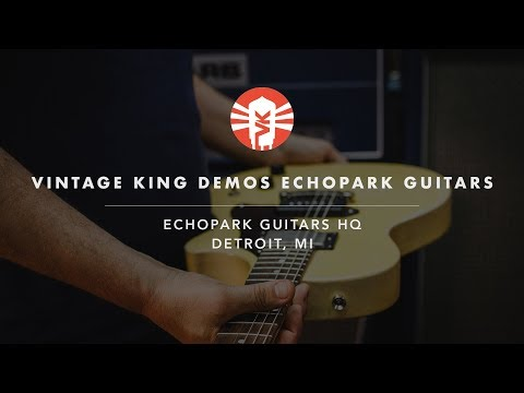 Vintage King Demos Echopark Guitars