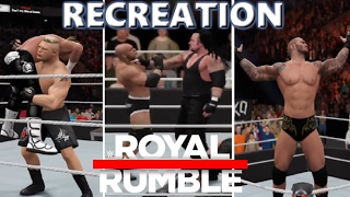 Nonton Wwe 2k17 Recreation  Royal Rumble Match 2017 Highlights Film Subtitle Indonesia Streaming Movie Download